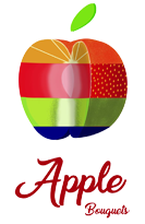 Apple Fruit Bouquets Logo
